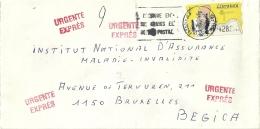 Espana ATM 1997 Fuengirola Malaga >> Bruxelles B / Urgente Expres - 1931-Aujourd'hui: II. République - ....Juan Carlos I