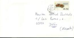 Espana ATM 1992 Jalon Alicante / Auto Car - 1931-Aujourd'hui: II. République - ....Juan Carlos I