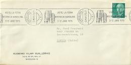 Espana 1975 BArcelona >> Zurich CH / Feria - 1931-Aujourd'hui: II. République - ....Juan Carlos I