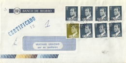 Espana 1986 Puerto De La Cruz Tenerife / Certificado Registered - 1931-Aujourd'hui: II. République - ....Juan Carlos I