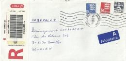 Danmark 2007 Sydjyllands Postcenter >> Bruxelles B / Registered