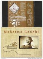 INDIA, 2011, Mahatma Gandhi Miniature Sheet With Spinning Charkha Issued Only As A Miniature Sheet,  MNH, (**)