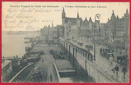 AK BELGIEN 'Militär In Antwerpen' ~ 1915 - Antwerpen