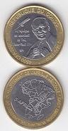 CONGO 2007 Pope Papst JOHN PAUL II 4500 Francs Cfa UNC Bimetal - Congo (République Démocratique 1998)