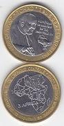 TCHAD Chad 2007 Pope Papst JOHN PAUL II 4500 Francs Cfa UNC Bimetal - Ciad