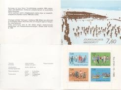 "Finnland 1989 MH 24 ""Breitensport"", Postfrisch; Booklet ""popular Sports"" MNH"