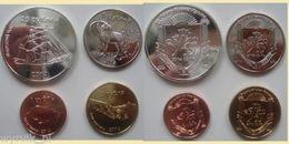 CRIMEA 2014 Set Of 4 Coins UNC - Munten