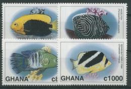 Ghana 1997 Meerestiere Fische Kaiserfisch Brasse 2542/45 Postfrisch