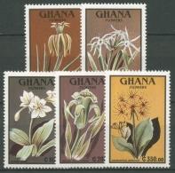 Ghana 1991 Blumen Pflanzen 1490/94 Postfrisch