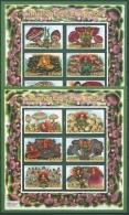 Ghana 2000 STAMP SHOW Pilze Und Ihre Geister 3107/18 K Postfrisch (C23961)