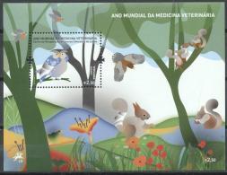 Portugal 2011 - MNH - Owl, Squirrel