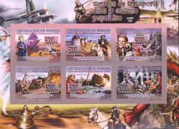 Guinea 2008 - Imperf. MNH - Aircraft, Cinema / Movies, Fairy Tales, Famous Persons, Horse, Transport