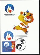 Croatia Zagreb 2016 / European Universities Games / Mascot HRKI / MC / Sport