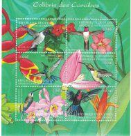 Guinea - 2001 Birds, Hummingbirds - Sc 2043 Sheetlet Of 6 MNH