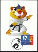 Croatia Zagreb 2016 / Karate / European Universities Games / Mascot HRKI / MC / Sport