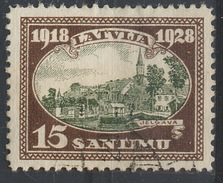 Latvija / 1928 / Mi.: 133 / Perf.: 11½ / Wm.: 5Z Vertical / Used