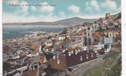 Gibraltar Birds Eye View Of The Town 1918 - Gibraltar