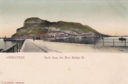 GibraltarThe Rock From The New Bridge North - Gibraltar