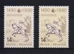 2350+2350a RUITER Roosbruin En Geelbruin  POSTFRIS** 1990 A169 CAT: 20,95 EURO