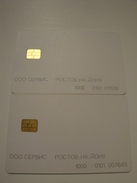 2 Chip Phonecards From Russia