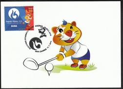 Croatia Zagreb 2016 / Golf / European Universities Games / Mascot HRKI / MC / Sport