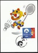 Croatia Zagreb 2016 / Badminton / European Universities Games / Mascot HRKI / MC / Sport