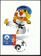Croatia Rijeka 2016 / Taekwondo / European Universities Games / Mascot HRKI / MC / Sport