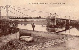 St-Florent-le-Vieil.. Animée Le Pont Sur La Loire - Frankreich
