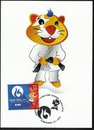 Croatia Rijeka 2016 / Judo / European Universities Games / Mascot HRKI / MC / Sport