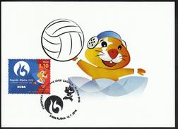 Croatia Rijeka 2016 / Water Polo / European Universities Games / Mascot HRKI / MC / Sport