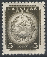 Latvia / Latvijas PSR / 1940 / Mi.: 295 / Perf.: 10½ / MNH