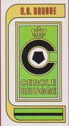 Panini Football 83 Voetbal Belgie Belgique 1983 Sticker Autocollant Cercle Brugge KSV Nr. 95 Logo - Sports