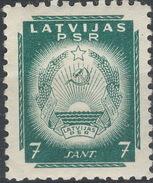 Latvia / Latvijas PSR / 1940 / Mi.: 296 / Perf.: 10 / MH