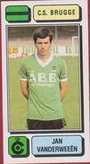 Panini Football 83 Voetbal Belgie Belgique 1983 Sticker Autocollant Cercle Brugge KSV Nr. 103 Jan Vanderweeen - Sports