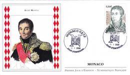 FDC Enveloppe Premier Jour MONACO 2008 ANDRE MASSENA 1758-1817 Maréchal De France Sous NAPOLEON