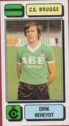 Panini Football 83 Voetbal Belgie Belgique 1983 Sticker Autocollant Cercle Brugge KSV Nr. 105 Dirk Beheydt Izegem - Sport