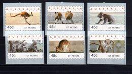 Australien Australia  Atm Frama Cps Vignettes Vending Labels  Sonder   St Peters 1997 ** Mint