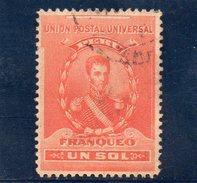 PEROU 1896-9 O - Peru