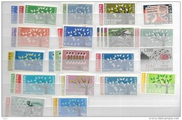 1962 MNH Cept Complete Postfris** - Europa-CEPT
