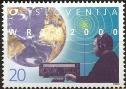 Slovenia 2000, Amateur Radio Communication Championship  Amateurfunker 1 Value MNH