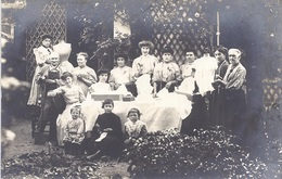 92 - NANTERRE - Belle CARTE PHOTO D'un Groupe - 1908 - T.B.E. - Nanterre