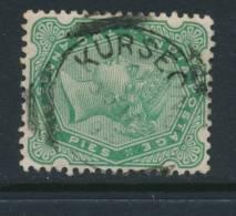 INDIA, Squared Circle Postmark KURSEONG - India (...-1947)