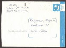 Philately Map  2009 Estonia  Pre-paid Postal International Stationary Cover # TK86 C5 Gone Post