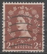 Great Britain 1958. Scott #356c (U) Queen Elizabeth II * - 1952-.... (Elizabeth II)