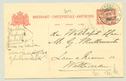 Nederlands Indië - 1912 - KB SOERABAIJA Op 5 Cent Briefkaart Naar Weltevreden - Nederlands-Indië