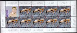 Croatia 2007 / Athletics High Jump Blanka Vlasic  / Sport / Mint Sheet - Atletiek