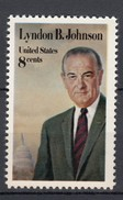 USA 8 C. Lyndon B. Johnson 1973 - ** Ungebraucht - Neufs