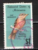 MICRONESIA - 1985 - Bird: Yap Monarch - USATO