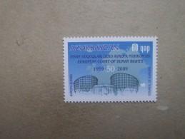 Aserbaidschan   Mitläufer   50 Jahre Europäischer Gerichtshof Für Menschenrechte   2009      ** - Europäischer Gedanke