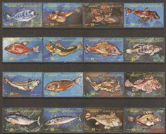 1983 Mi# 1138-1153 ** MNH - Fishes
